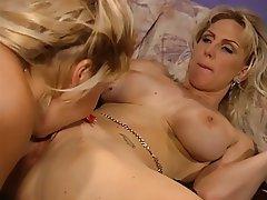 Lesbian, Blonde, MILF, Big Boobs
