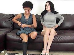 Hardcore, Interracial, Lesbian, Small Tits
