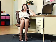 Stockings, Lingerie, Office