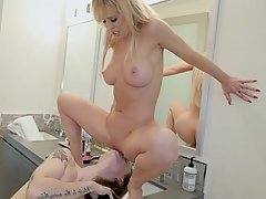 Bathroom, Mature, Mature, Mature, MILF, Stepmom