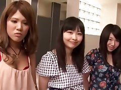 Asian, Femdom, Gangbang, Japanese, Strapon