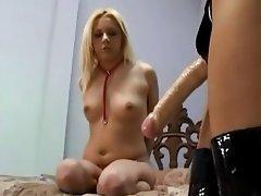 Bondage, Lesbian, Strapon