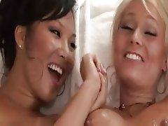 Asian, Babe, Blonde, Lesbian